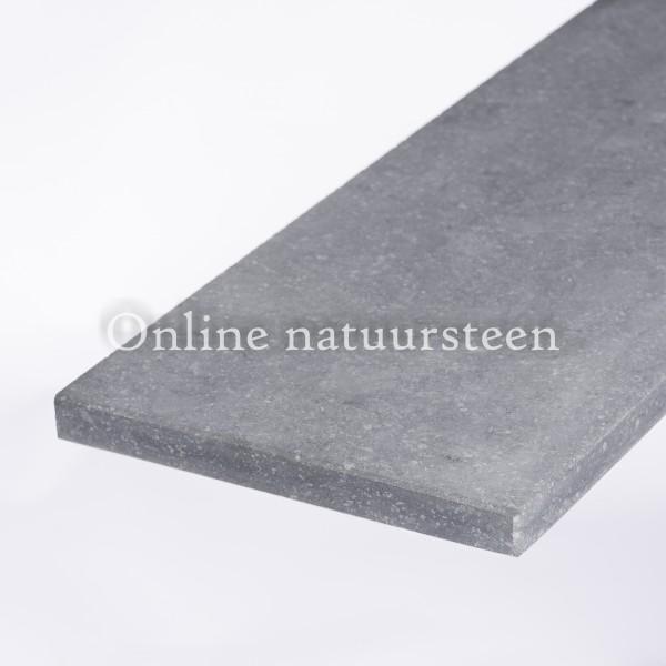 Belgisch hardsteen (geschuurd)  - 2 cm.