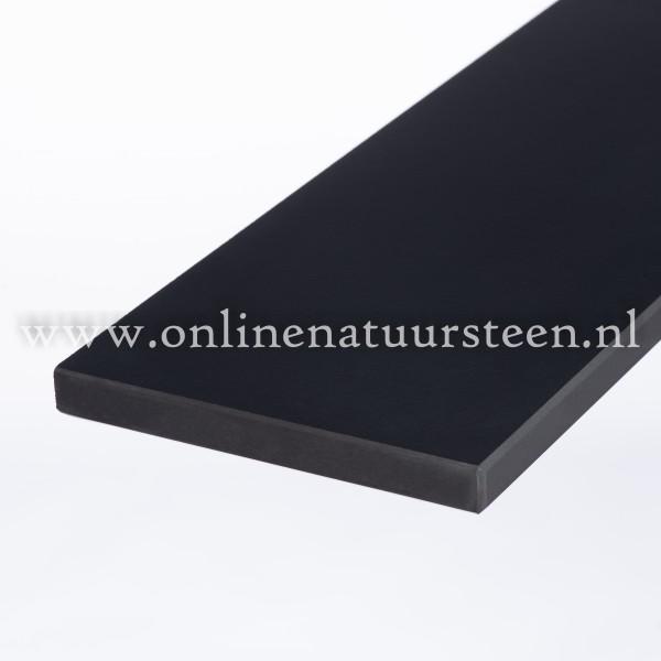 Ceramic-Stone Pure Black (gezoet) - 2 cm dik.