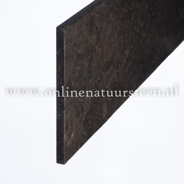 Belgisch hardsteen gevelplinten (Donker gezoet) - 3cm