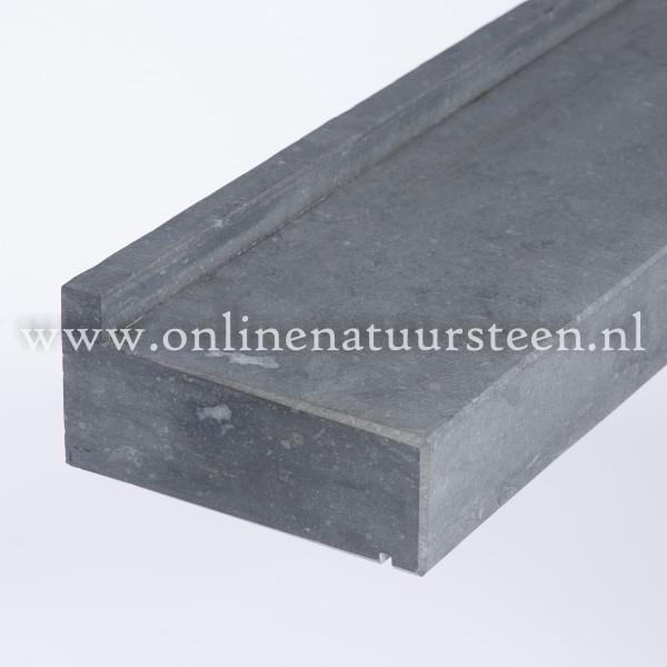 Belgisch hardsteen (gezoet) vlak - 6 cm.