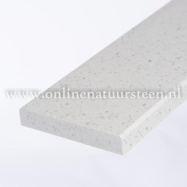 Marmercomposiet Bianco MI - 2 cm.