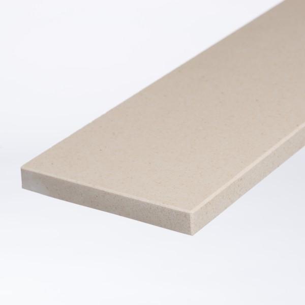 Marmercomposiet Beige MI (25 cm. breed) - 2cm