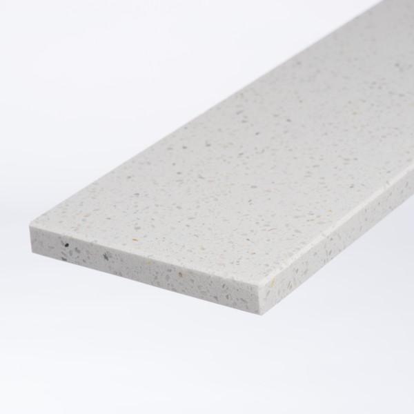 Marmercomposiet Bianco MI (15 cm. breed) - 2cm
