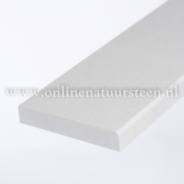 Marmercomposiet Bianco C - 3 cm.