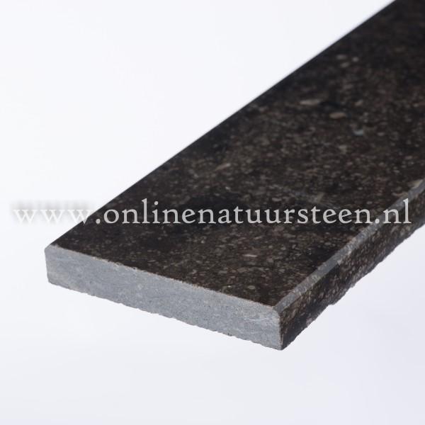 Belgisch hardsteen (donker gezoet) - 1,5 cm.