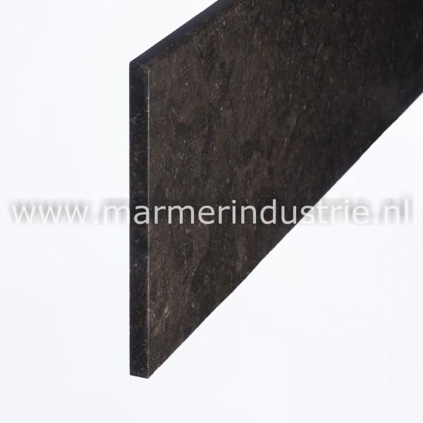 Belgisch hardsteen gevelplinten (Donker gezoet) - 1,5cm