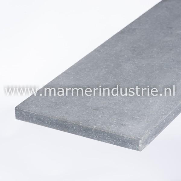 Belgisch hardsteen (geschuurd) 4 cm.
