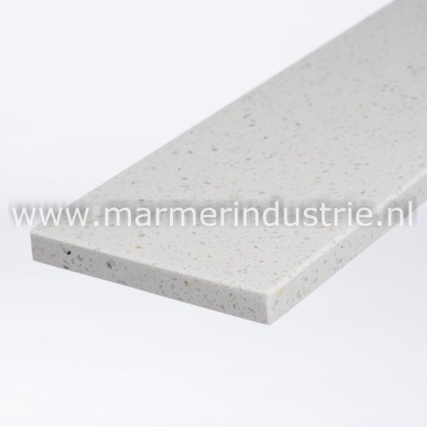 Marmercomposiet Bianco MI ® - 2 cm.