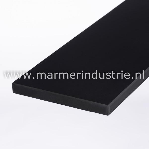 Keramiek Pure Black (gezoet) - 2 cm.
